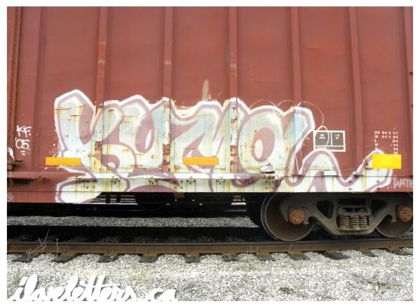 kuma freight graffiti