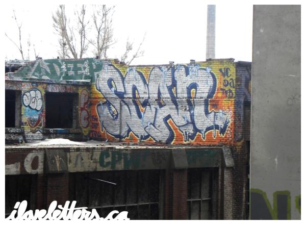 SCAN BOMB MONTREAL GRAFFITI