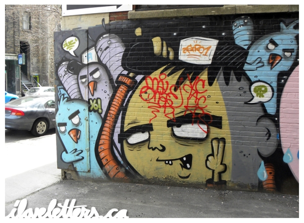 ASTRO WALL MONTREAL GRAFFITI