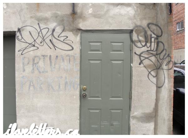 DURS QUIDAM BOMB MONTREAL GRAFFITI