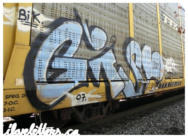 GISE FREIGHT GRAFFITI