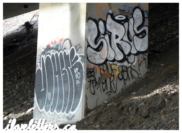 JOHSTE SIRUS BOMB MONTREAL GRAFFITI