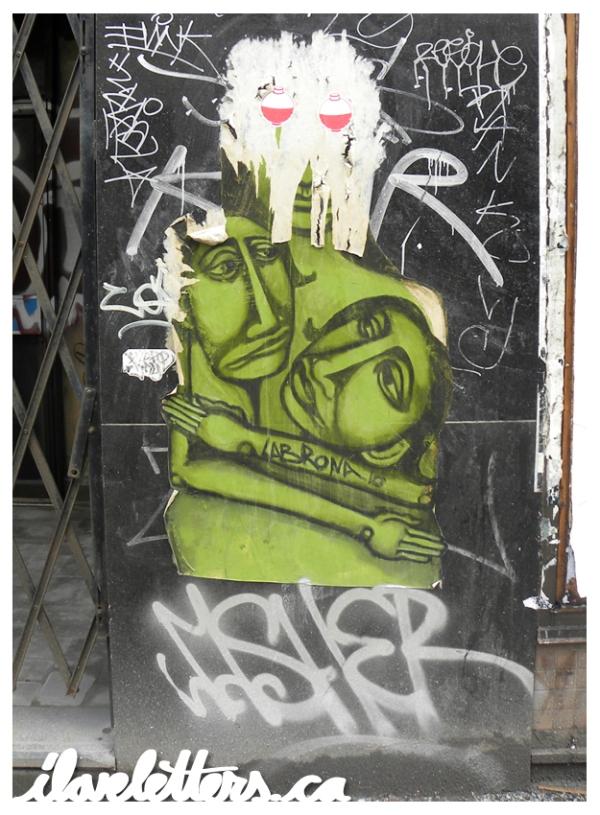 LABRONA BOMB MONTREAL GRAFFITI