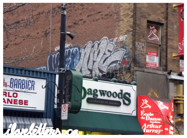 NME BOMB MONTREAL GRAFFITI