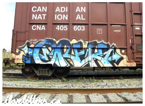 OREK IFC FSU FREIGHT GRAFFITI