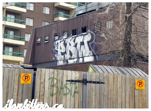 PBW BOMB MONTREAL GRAFFITI