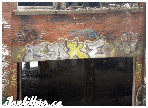 SAKE BOMB MONTREAL GRAFFITI