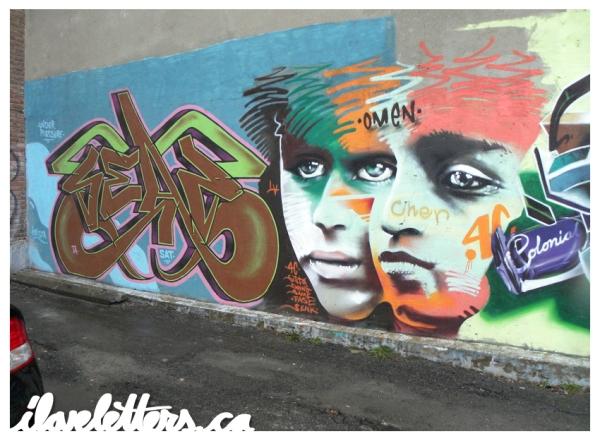 SEAZ OMEN WALL MONTREAL GRAFFITI