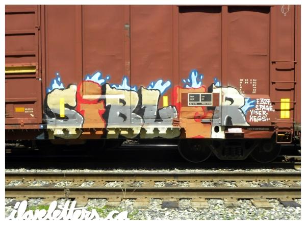 SIBL FREIGHT GRAFFITI
