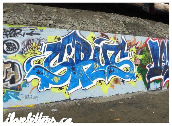 SIRUS WALL MONTREAL GRAFFITI