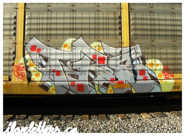TARS AA FREIGHT GRAFFITI