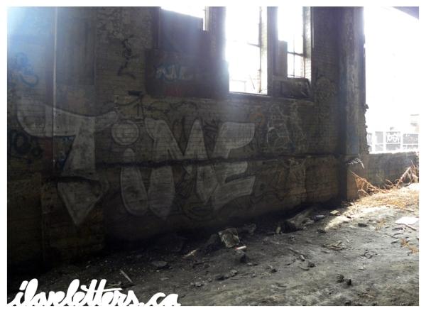 TIME BOMB MONTREAL GRAFFITI