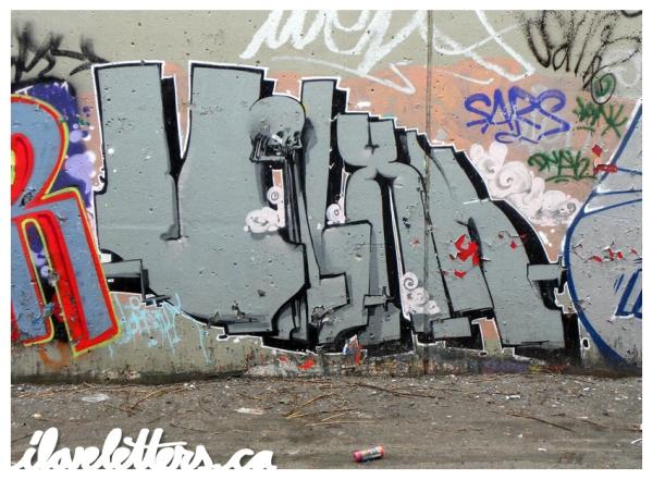 VIXN WALL MONTREAL GRAFFITI
