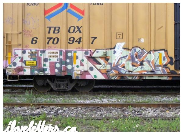 alpha_kev_Freight_Train_Graffiti