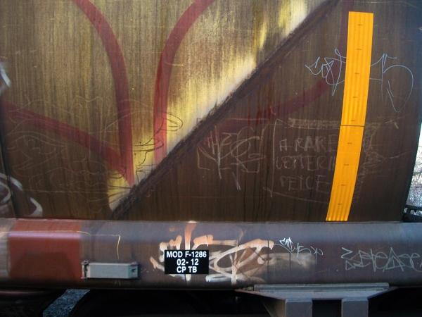 other graffiti freight train