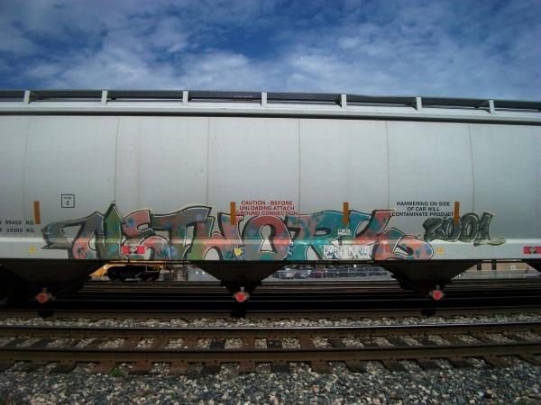 network graffiti freight train