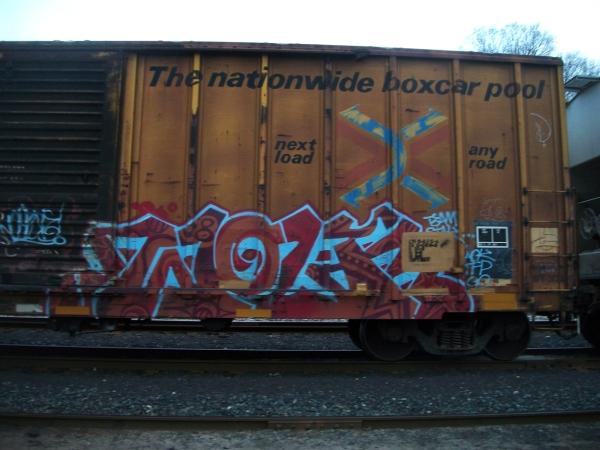 wolf aok tfp graffiti freight train